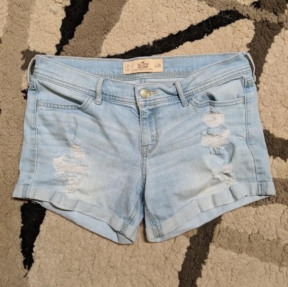 Hollister Pants - Hollister Midi jean short (7)